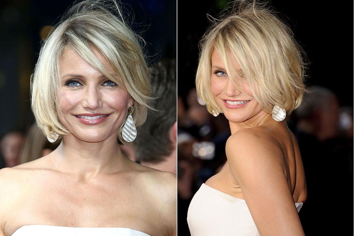 Az egyenes, állig érő frizura is szóba jöhet széles, szögletes arc esetén, ám ügyelj arra, hogy a tincseket íveltre szárítsd, és növeld meg a haj tömegét.