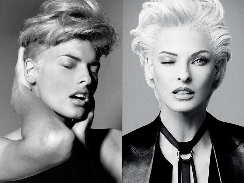 Sokak emlékezetében még most is platinaszőkén él az egykori topmodell, pedig újabban a természetesebb hatású, sötét tincsekért rajong.