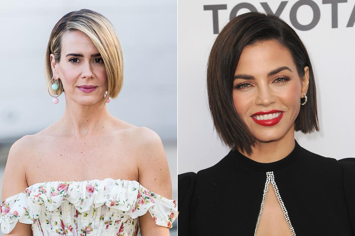 Sarah Paulson és Jenna Dewan arcformájához tökéletesen passzol az állig érő fazon.