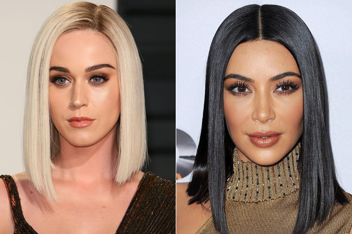Katy Perry és Kim Kardashian mestere a hajegyenesítésnek.