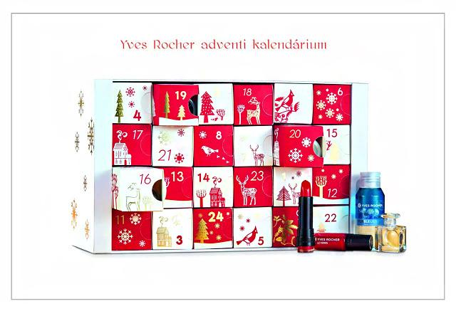 Az Yves Rocher adventi meglepetésnaptára már megérkezett a boltokba: 24 napra kínál szuper termékeket, melyek még több örömmel és izgalommal töltik meg az adventi időszakot. Az ára: 15 990 forint.