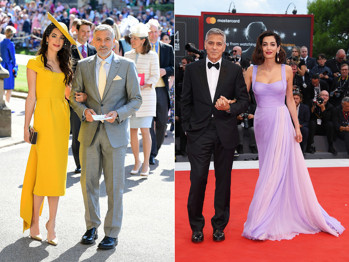 Meghan Markle és Harry herceg esküvőjén tetőtől talpig sárgában, az idei cannes-i filmfesztiválon pedig halvány levendulaszínű ruhában jelent meg.