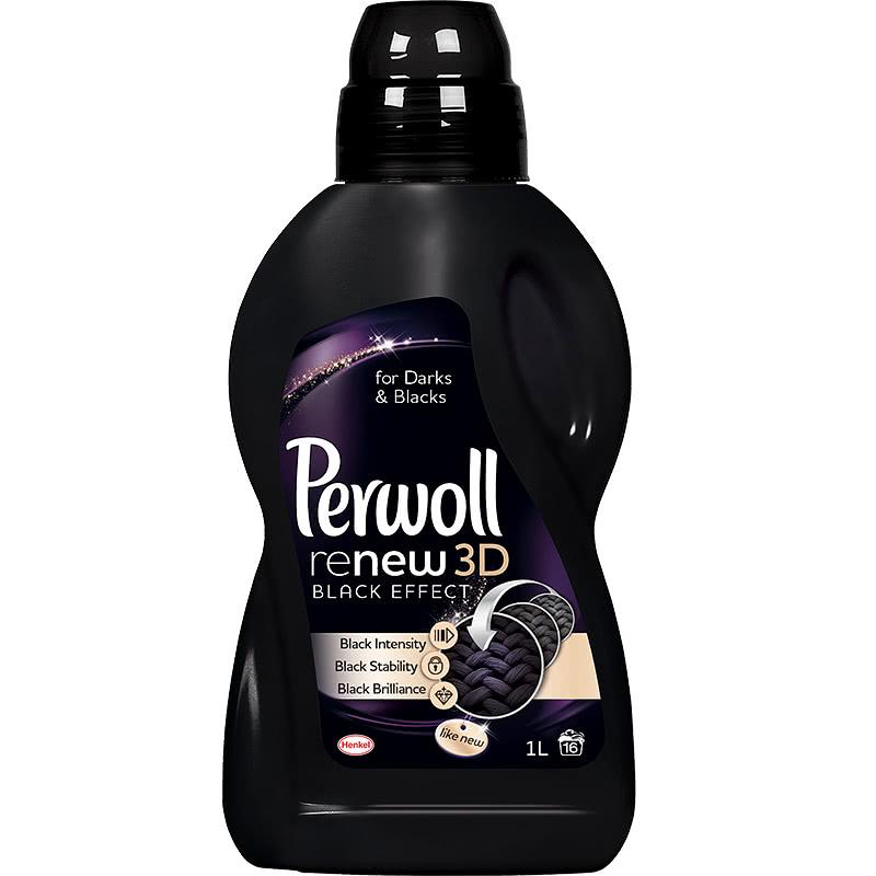 A Perwoll többféle mosószert is piacra dobott fekete ruhák tisztításához, melyek színmegújító formulájuknak köszönhetően eltávolítják a levált vagy megtört rostszálacskákat a ruhákról, valamint megóvják intenzív árnyalatukat.