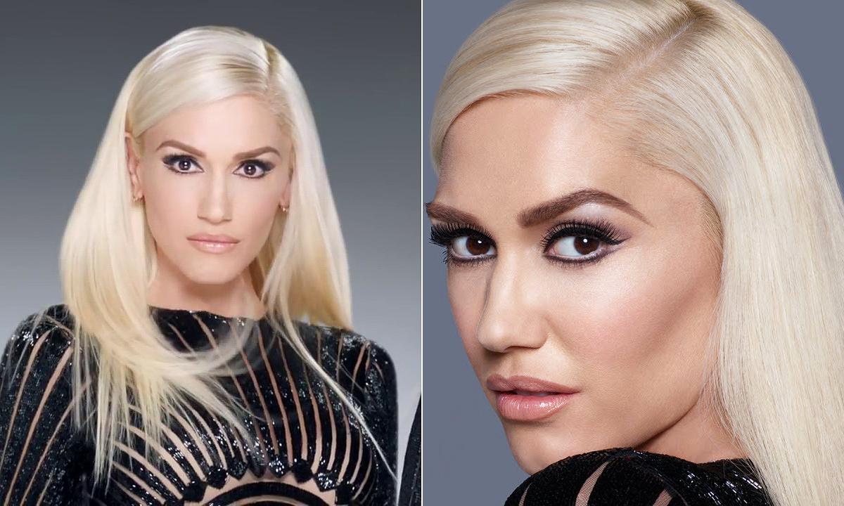 A Revlon reklámjában elsütötte ijesztő nézését. A kampányfotókon is szembetűnő, hogy az énekesnőnek elég merev az arcmimikája.
