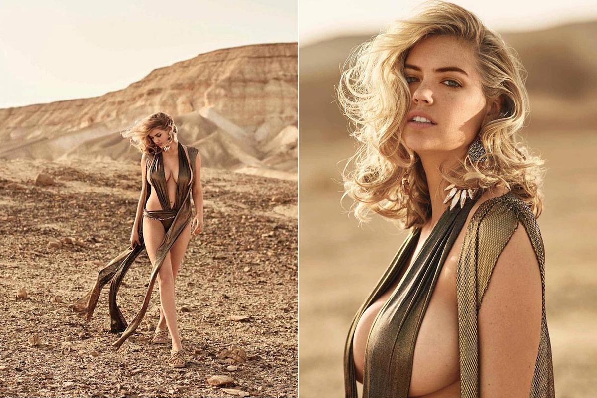 A Maxim divatszerkesztője, Caroline Christiansson kissé provokatív, legalábbis túlságosan erotikus fehérneműket és fürdőruhákat válogatott össze a modellnek, melyekben Kate Upton felforrósítja maga körül a levegőt.