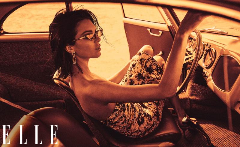 Ezen a képen például alig felismerhető Kendall Jenner.