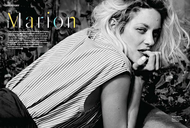 Marion Cotillard csajosan vagány ruhákban mutatta meg magát a francia Grazia magazin májusi számában. A képeket Eliott Bliss készítette.