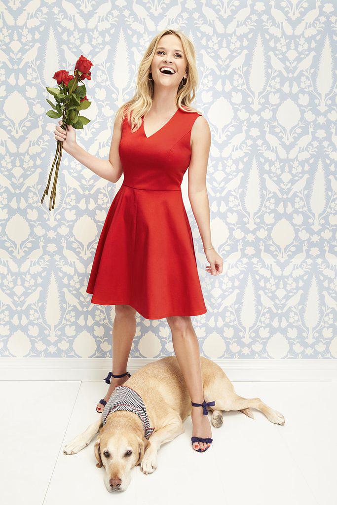 Reese Witherspoon többnyire saját maga népszerűsíti márkáját, de most kivételt tett, és a lányával állt modellt.