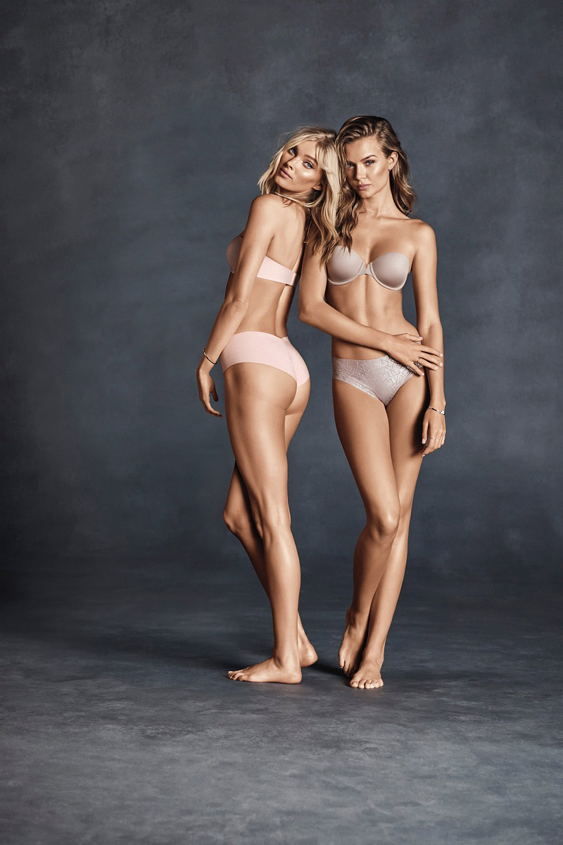 Elsa Hosk és Josephine Skriver.