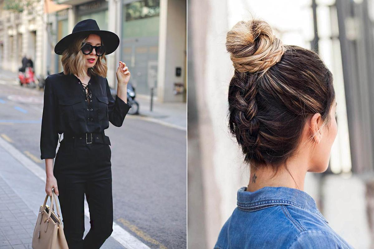 Ha pár centivel szeretnéd megtoldani a magasságod, viselj kalapot, vagy tűzd fel a fejed tetejére a hajadat. Mindkettő divatos megoldás.