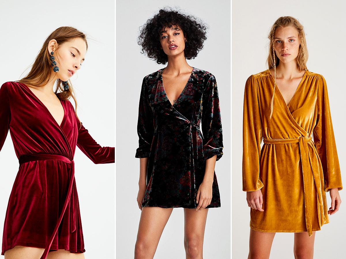 Átlapolt ruhácskák, a partiszezon legszexisebb darabjai: Pull & Bear 8995 forint, Zara 12 995 forint, Pull & Bear 9995 forint.