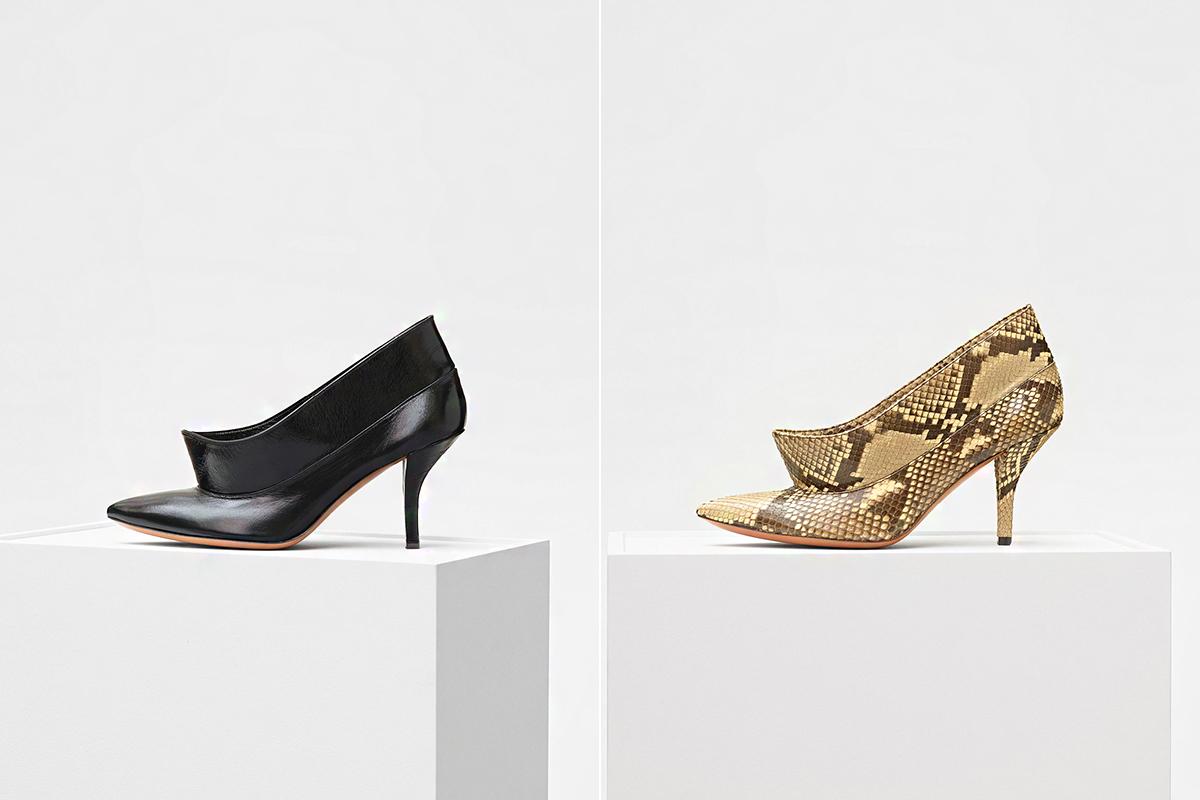 Elegáns és extravagáns egyszerre ez a galléros cipőfazon.