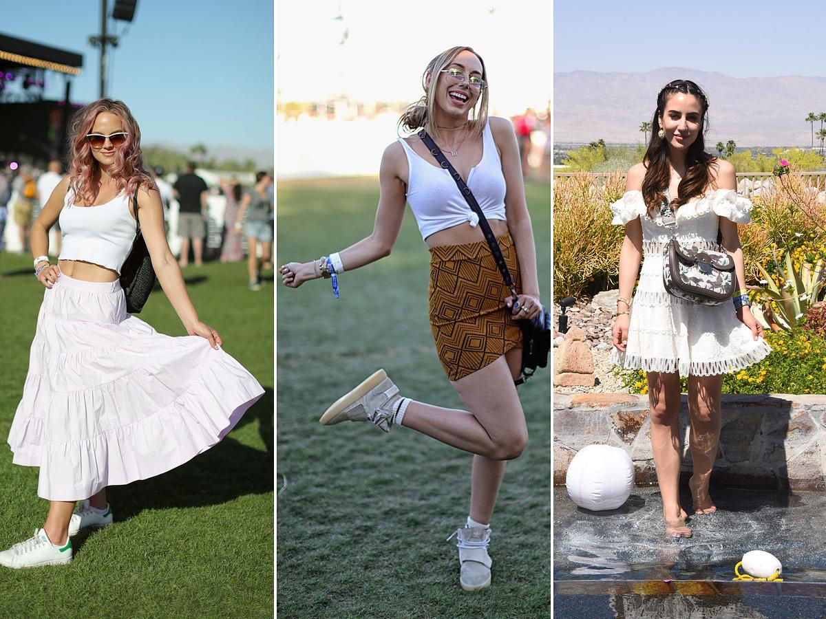Mit keres a fehér ruha és szoknya egy fesztiválon? Bár a fehér szín tényleg kényes, és egy efféle rendezvény köztudottan koszos, nincs semmi akadálya, hogy fehéret viselj a koncerteken.