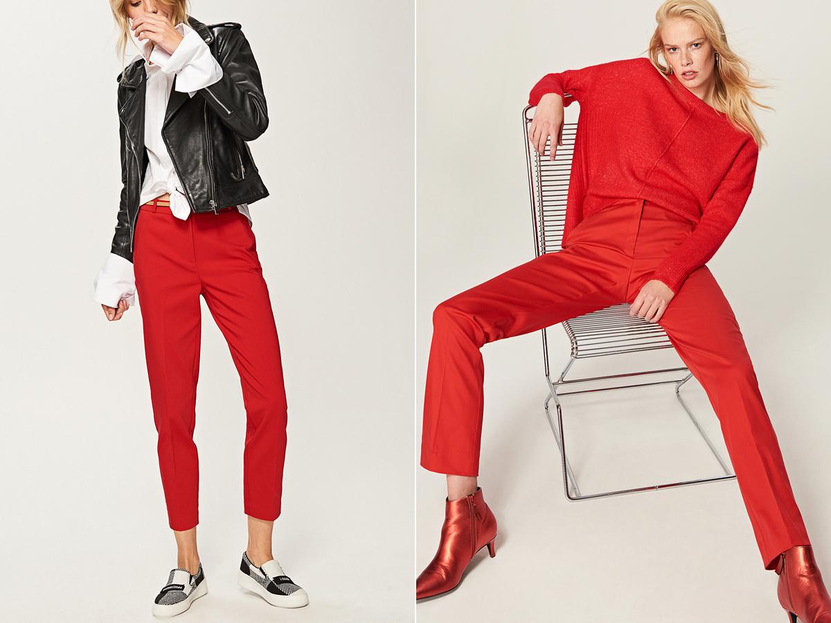 Dögös vörös nadrágokat is találhatsz a kínálatban, egyenes és bő szárú fazonban. A szivarnadrág 7995 forintba, az A-vonalú kreáció 9995 forintba kerül a Reserved üzleteiben.
