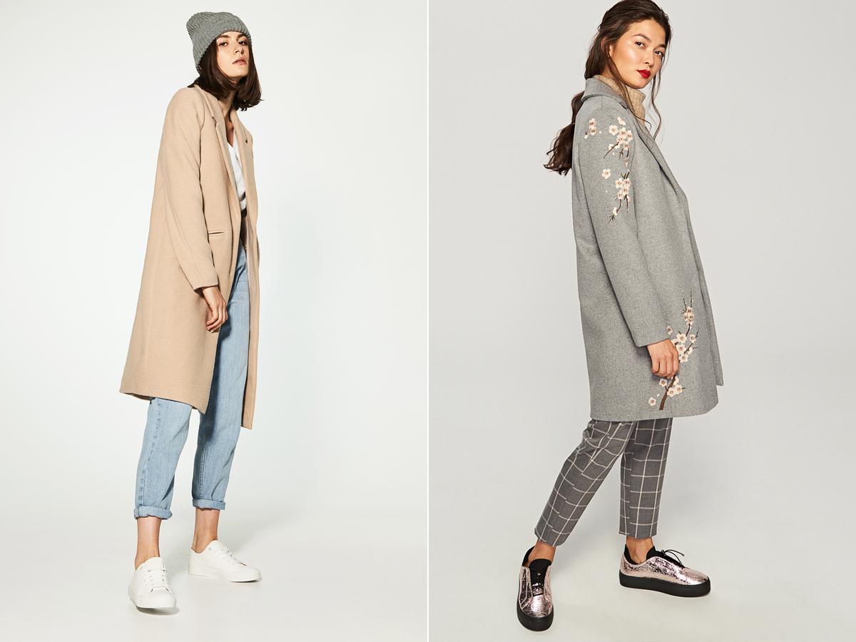 Tavaszi romantika az őszben: a halvány rózsaszín éppúgy divatszín lesz a kabátszezonban, mint most, és a népszerű világos szürke kreációk sem maradhatnak el. House 16 995 forint, Reserved 19 995 forint.