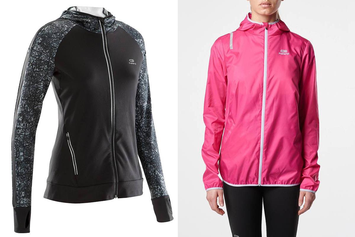 Speciális felső hobbifutáshoz, ami egyszerre meleg és légáteresztő: Decathlon, 8990 forint. Szélálló dzseki, ami futáshoz ideális: Decathlon, 4990 forint.