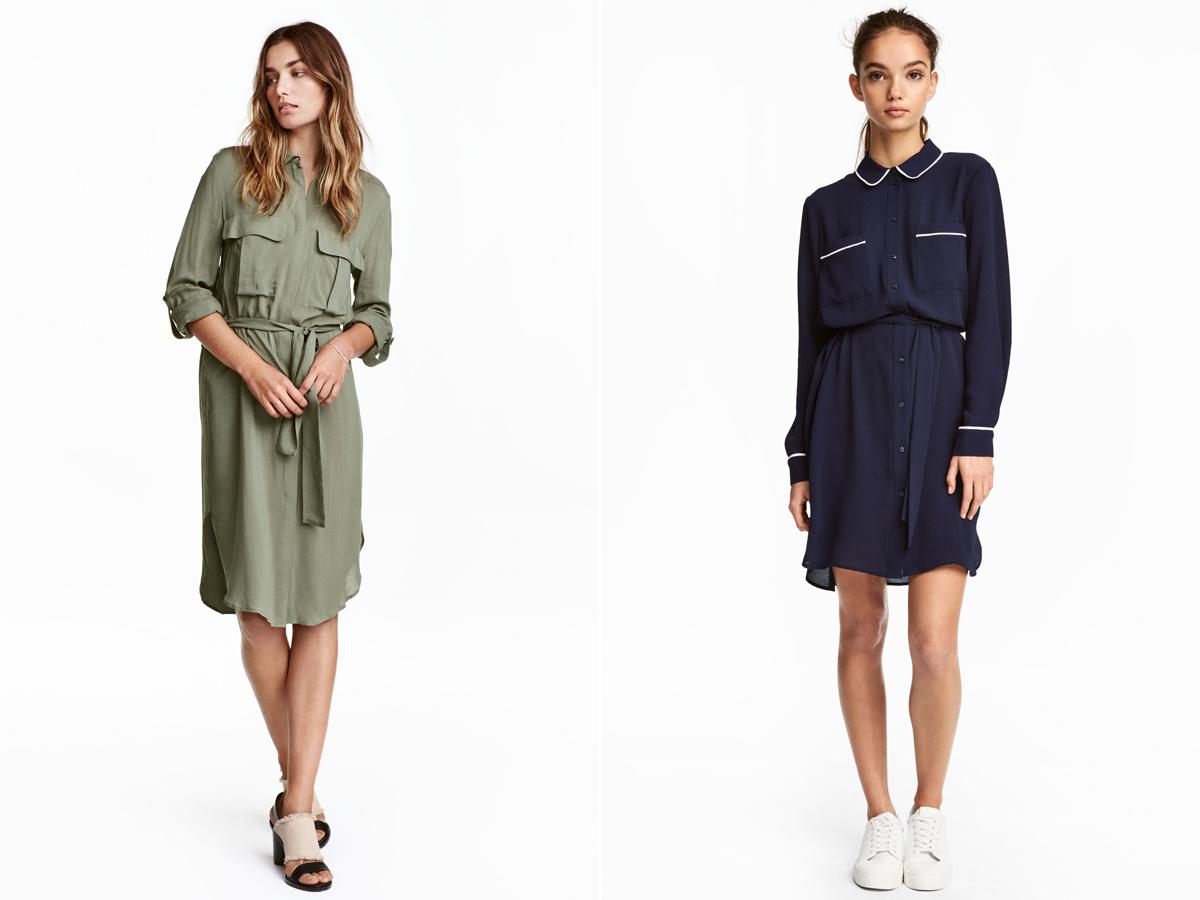 A szafari és a pizsama stílus is hódít idén: mindkét darab 8990 forintért kapható a H&M kollekciójából.