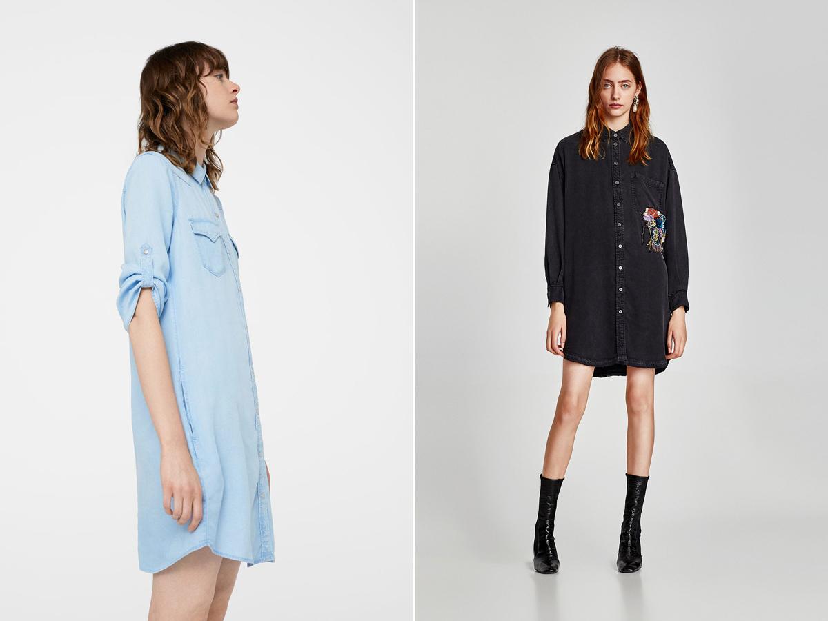 A vagány verziókat is lehet nőies stílussal kombinálni: Mango 11 995 forint, Zara 12 995 forint.