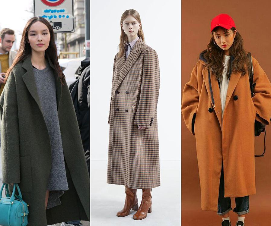 Az őszi-téli kínálatban megszaporodtak az úgynevezett oversize, túlméretezett kabátok. A lábszárig érő, bő ujjú, hatalmas fazonok még a magas nők alakját is erősen összenyomják, amin már a magas sarkú csizma sem sokat segít.