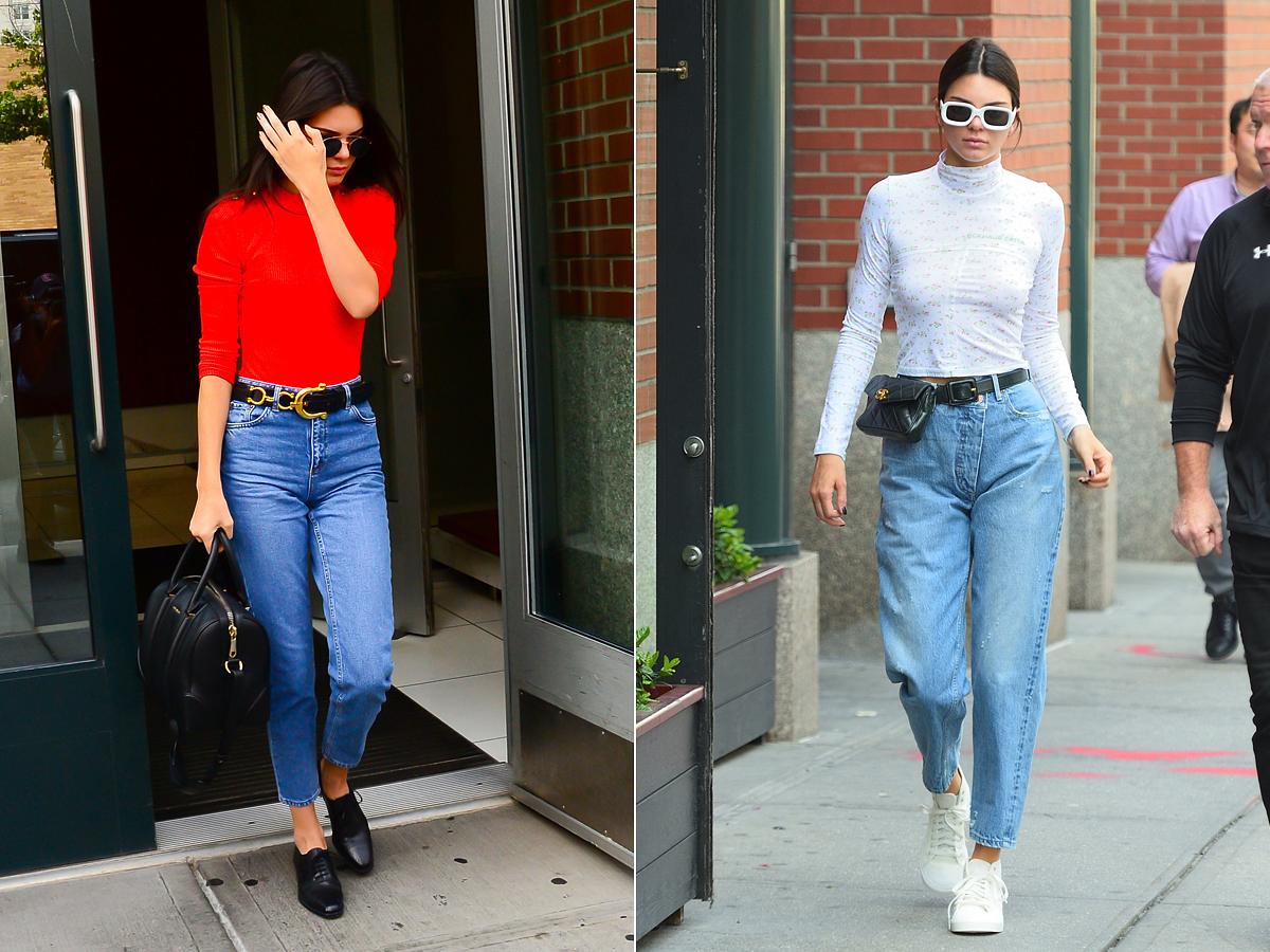 Kendall Jenner imádja ezt a farmerfazont. Nőies és sportos stílusban egyaránt szívesen viseli.