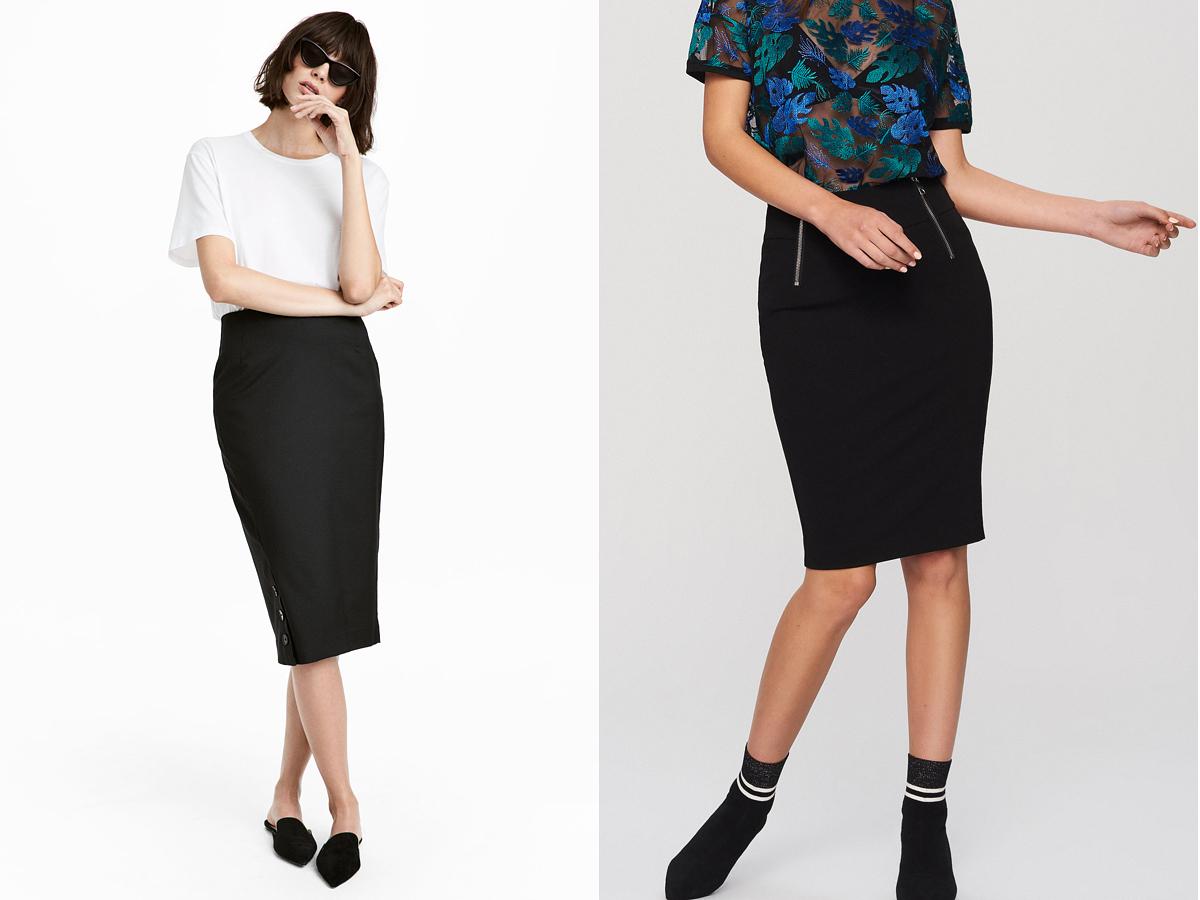 Ha az alkalom úgy kívánja, az efféle fekete szoknyák elegánsak is lehetnek, de a mindennapi öltözékekben éppúgy megállják a helyüket. H&M: 5990 forint. Reserved: 3995 forint.