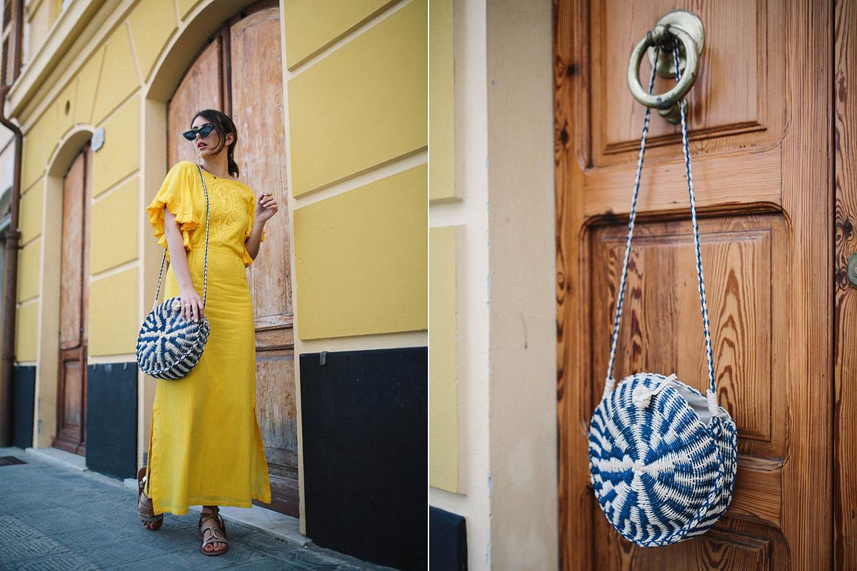 A sárga energiáját drapp tónusokkal tompíthatod, ám az öltözékben elfér egy kék kiegészítő, mely megidézi a tenger színvilágát.