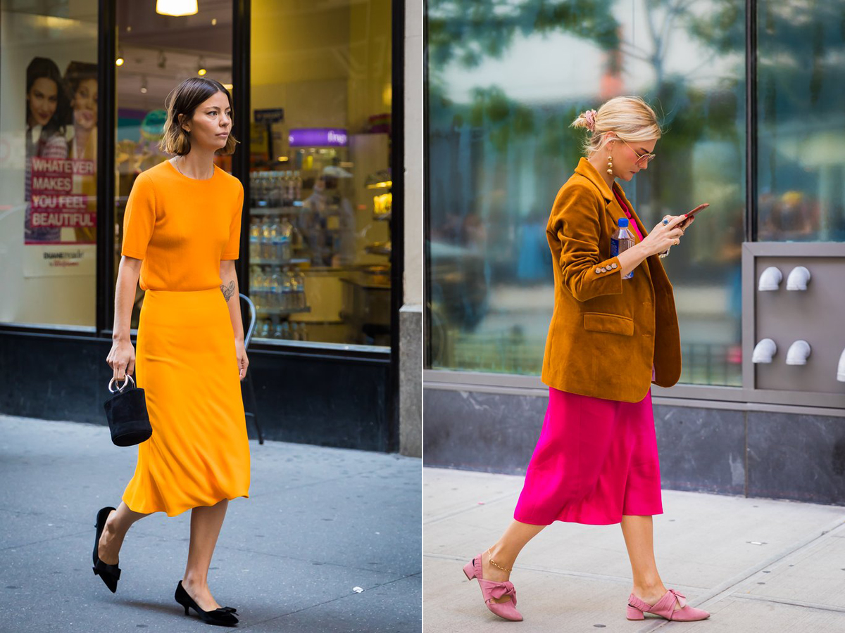 Lehet, hogy visszajön a vibráló, játékos színblokkokkal játszó divat? A New York-i divathéten minden esetre megszaladtak a fukszia, pink, sárga és okker színárnyalatok.