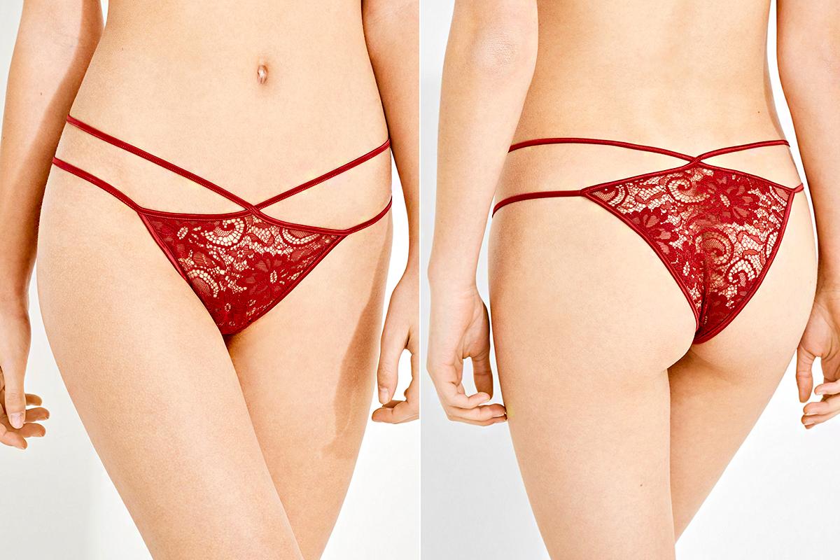 A Women'secret tavaszra falatnyi brazil fazonokat is kínál, melyek szexi pántokkal hangsúlyozzák a nőies vonalakat.