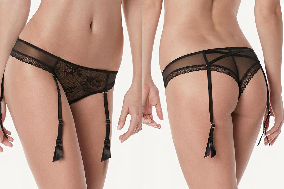 A klasszikus, nőies elegancia az Intimissimi olvasatában is megkívánja a harisnyakötőt.