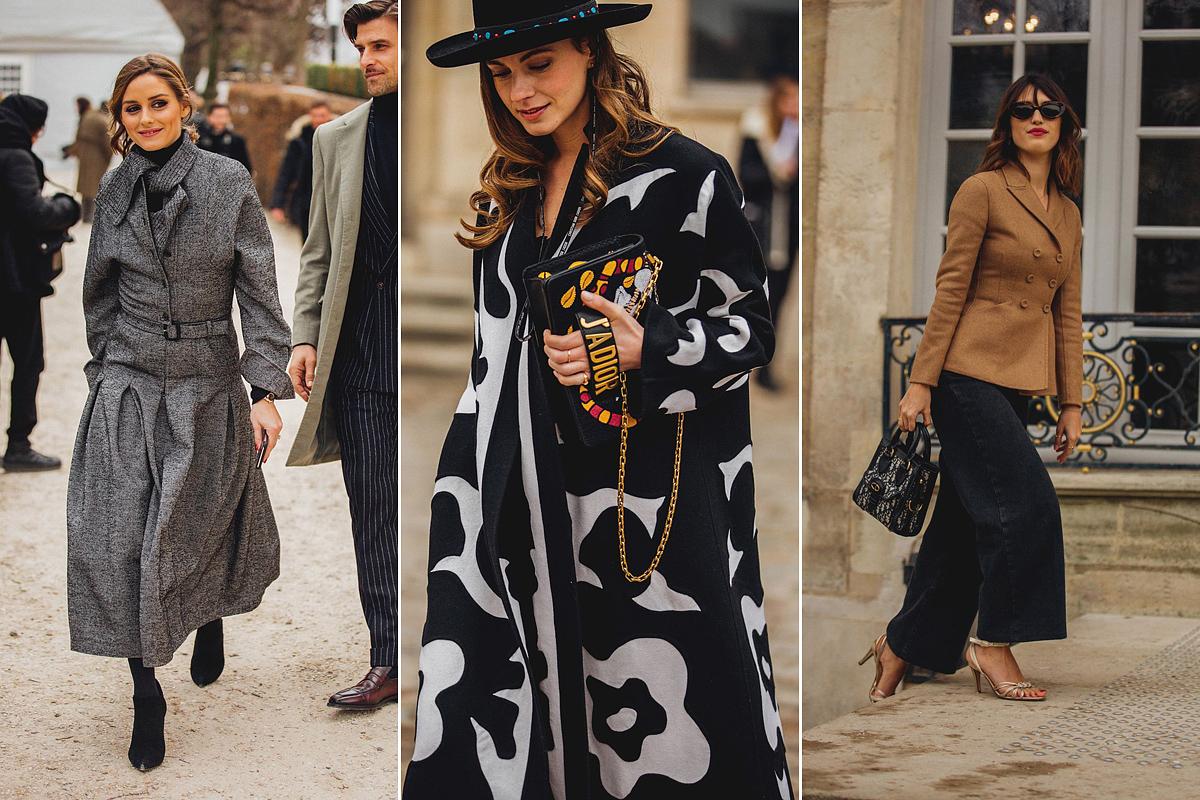 A vintage hangulat szintén belengi az egész tavaszi divatmizériát. Egyre többen viselnek kabátruhát vagy ruha szabású kabátot, ami Katalin hercegné ruhatárába is beépült. A nagy léptékű minták, valamint a válltöméses blézerek szintén befutók idén.