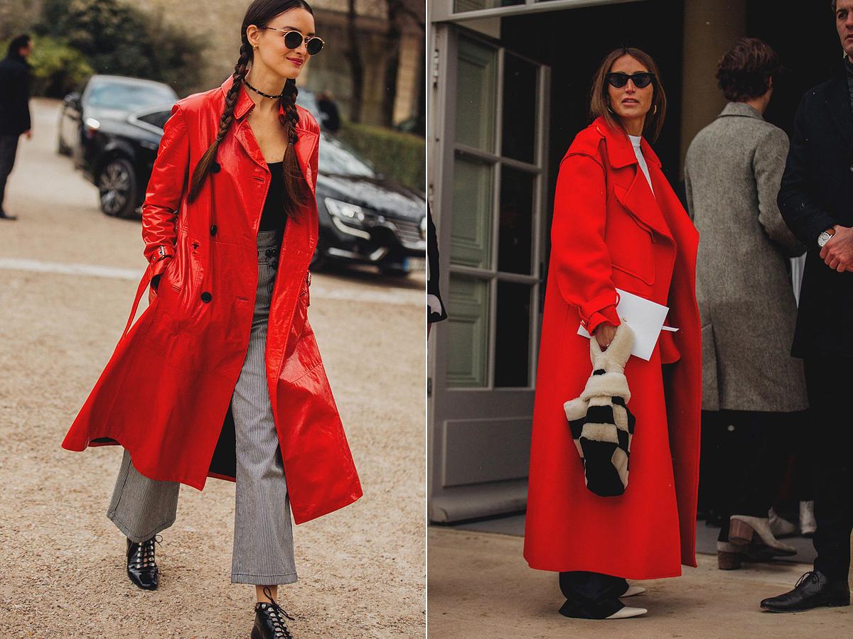 A piros számos tavaszi kollekcióban felbukkan, és elég gyakran összefuthatunk vele az új szezonban. A piros kabátok viszik a pálmát idén, az biztos.
