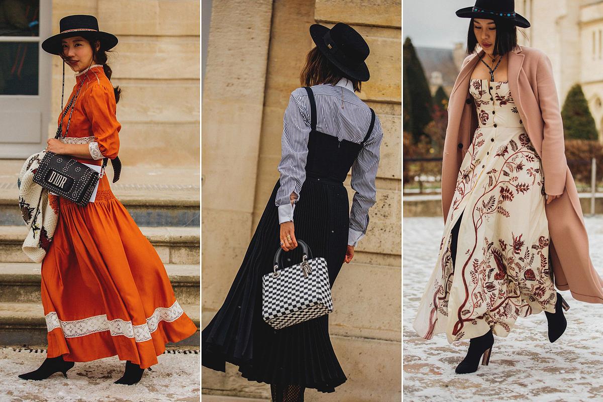 A Dior indította útjára a modern indián stílust, melyet mexikói hatások inspiráltak. Ez a trend otthagyja lenyomatát a tavaszi ruhákon és kalapokon.