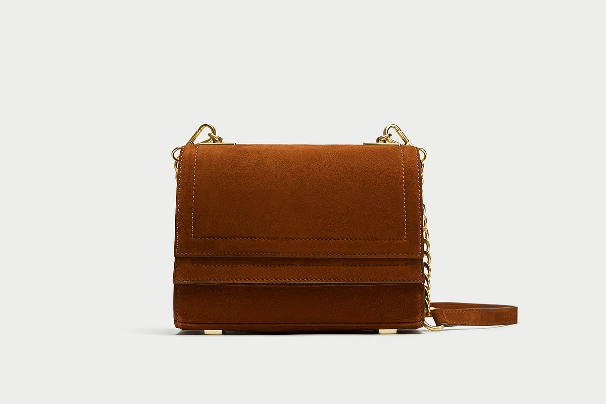 A Zara hasított bőr újdonsága 14 995 forintba kerül.