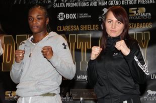 Szabados Szilvia történelmi jelentőségű bokszmérkőzést vív Amerikában