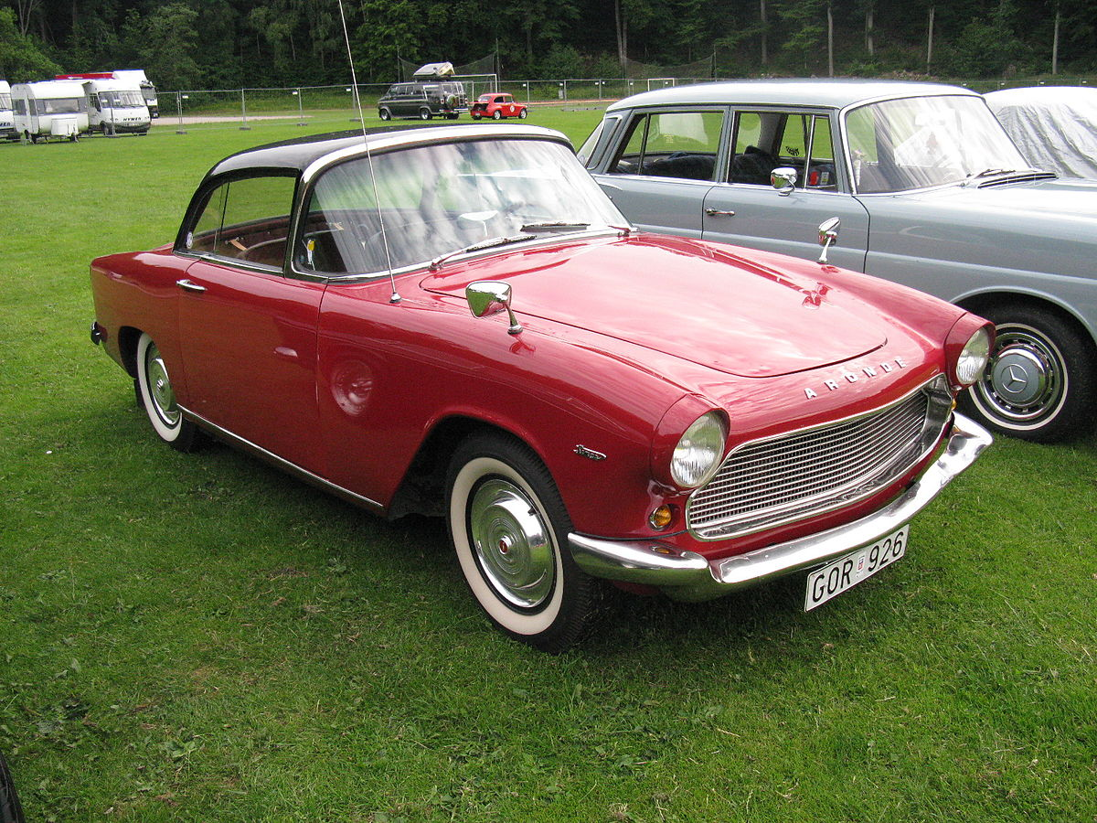 Simca Aronde coupé