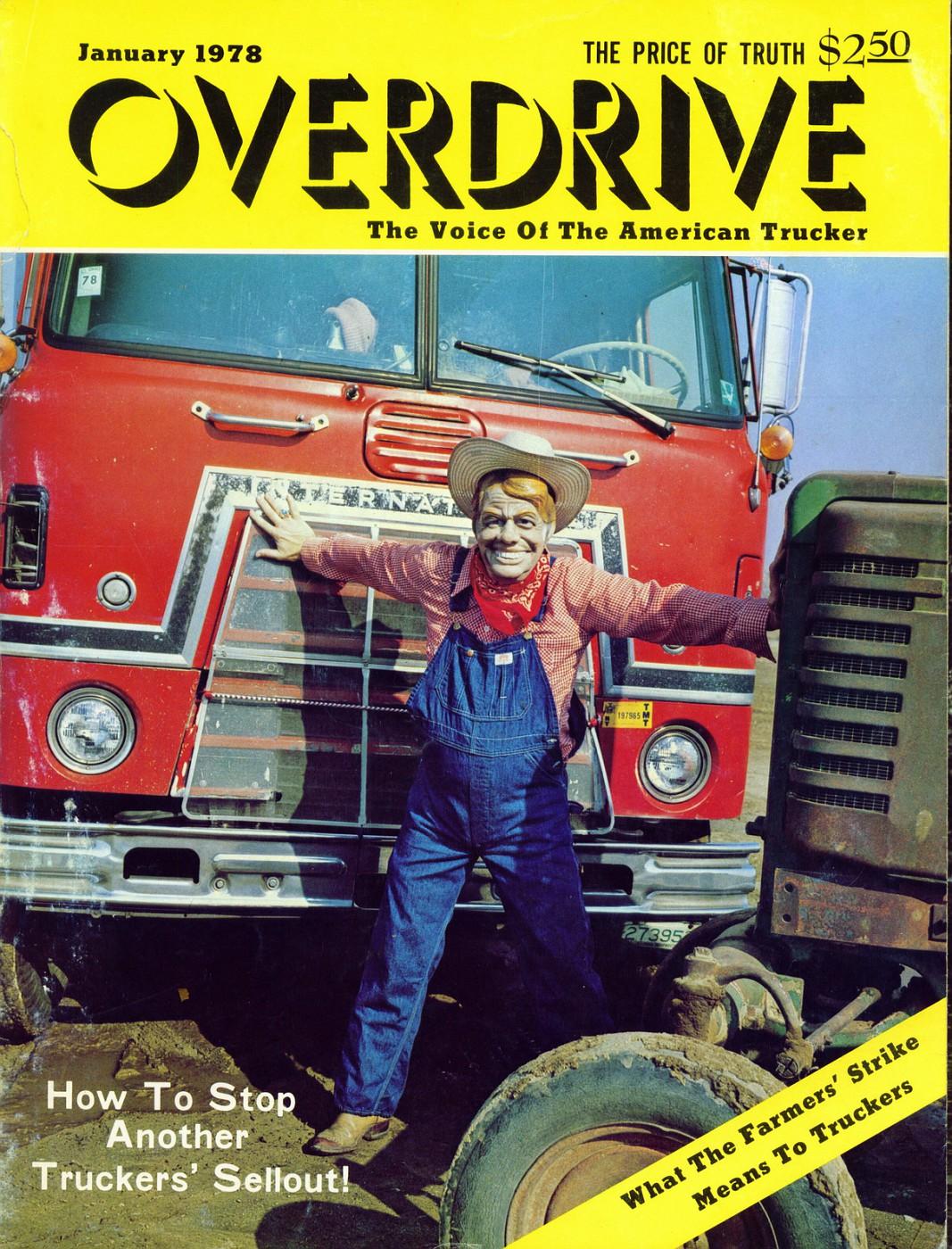 Vintage overdrive magazine