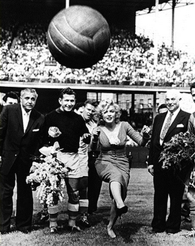 1957_ceremonial_kick-off_by_marilyn_monroe_at_ebbets_field_in_brooklyn_before_a_soccer_game_between_israel_and_us_boston_globe_reported_that_she_scored_a_direct_hit_smack_on_the_head_of_united_press_photographer_joel_la.jpg