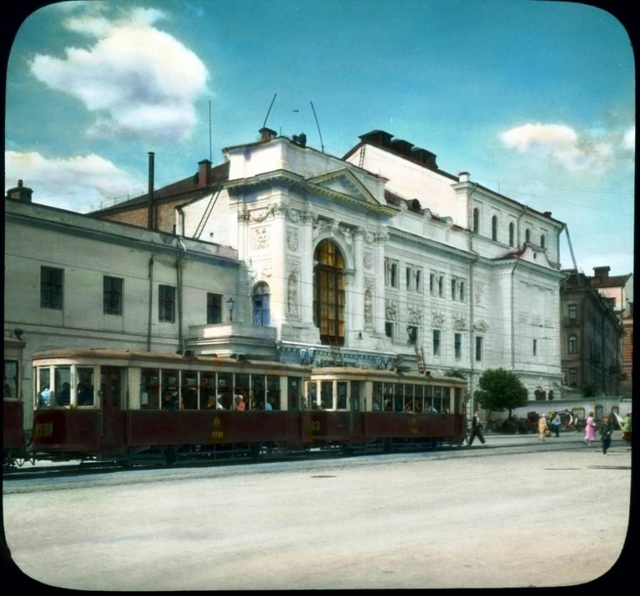 A Második Moszkvai Művészszínház, később Gyermekszínház