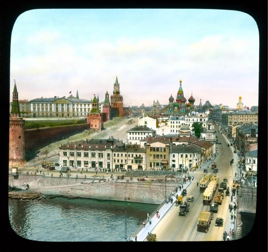 A Moszkvoreckaja utca és a Vasziljevszkij szpuszk