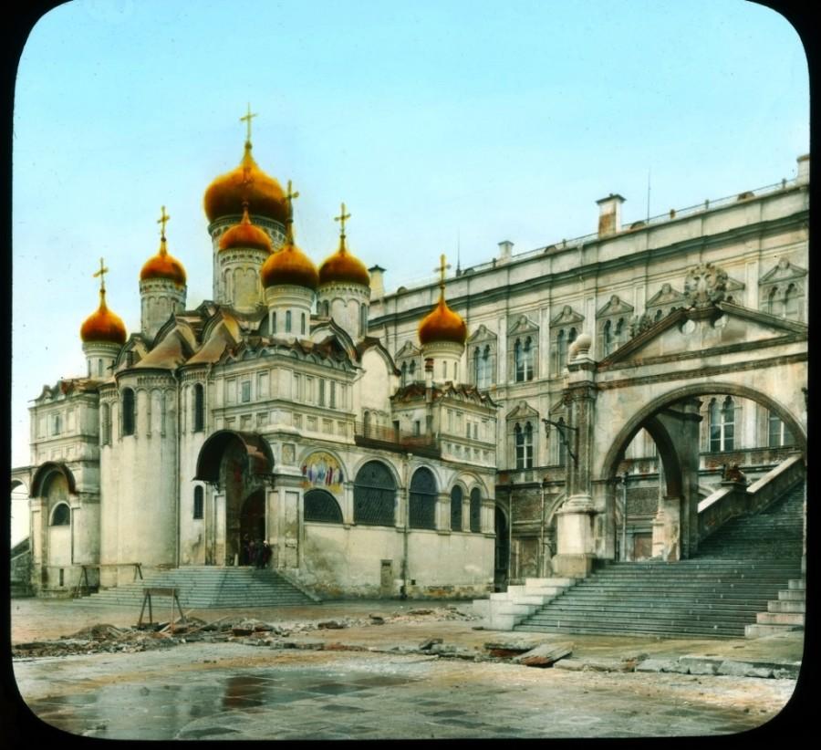 Kreml, a Blagovescsenszkij (Angyali Üdvözlet)-székesegyház