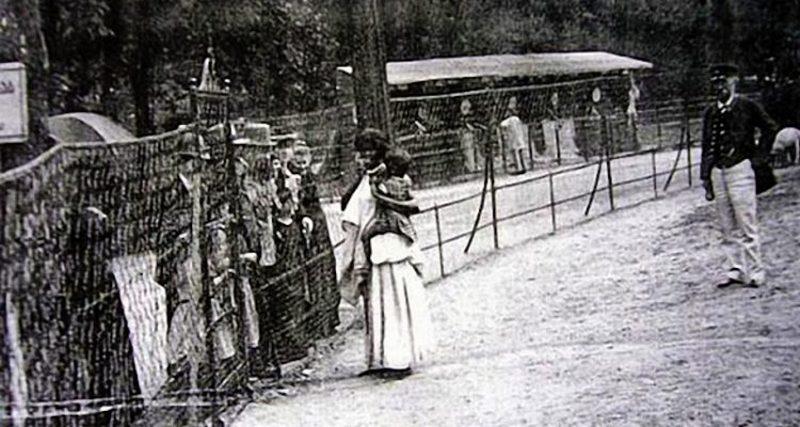 1897. Nigró Falu a berlini állatkertben. Még Bismarck is meglátogatta.
