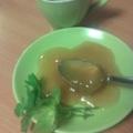 Mentás-citromfüves almazselé