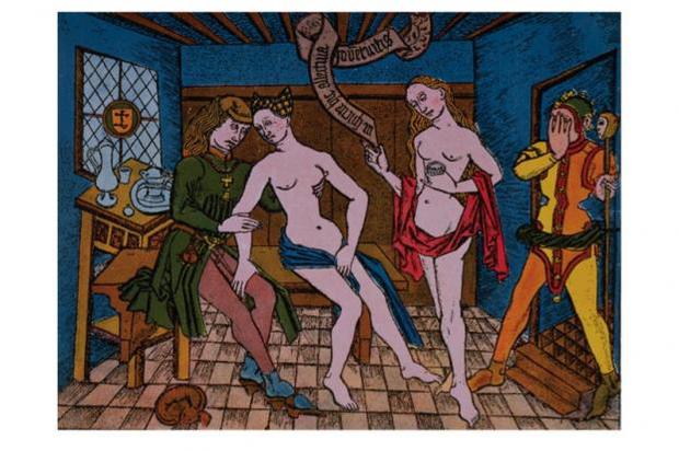 Prostitúció a középkorban