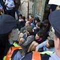 A kilakoltatás elleni demonstrációról
