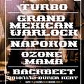 Turbo, Grand Mexican Warlock és vendégeik – Napokon, Ozone Mama, BackBeeT [KONCERTAJÁNLÓ]