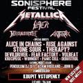 Összeborult Nagy Thrash Négyes - Sonisphere Festival, Letiste Milovice, 2010.06.19., képes beszámoló