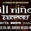 Jövő héten Budapestre érkezik az Ill Nino / Ektomorf turné!