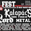 Rock On! Fest 2016 - ingyenes, 3 napos nagyszabású rock / metal fesztivál szeptember első hétvégéjén Budapesten