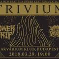 Átkerült az Akváriumba a Trivium koncert!