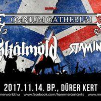 Omnium Gatherum, Skálmöld és Stam1na ma este a Dürer Kertben!